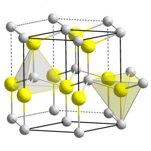Strukturformel des in der Zinkoxidschüttelmixtur enthaltenem Zinkoxid