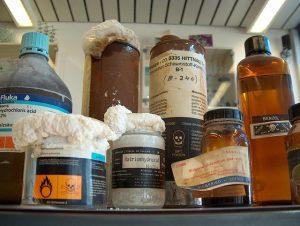 Lagerung von Gefahrstoffen in Apotheken