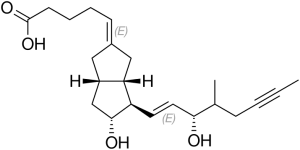 Iloprost_Struktur
