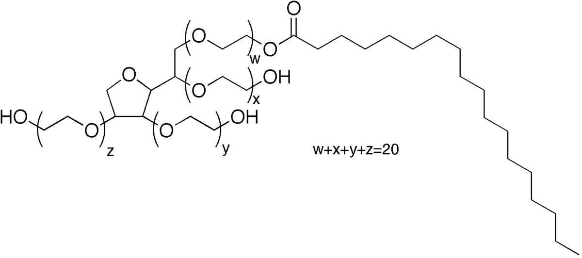 Polysorbate_60-Strukurformel