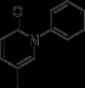 Pirfenidon-Strukturformel