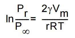 Kelvin-Gleichung