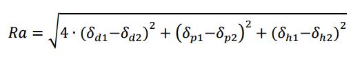 Hansen Löslichkeitsparameter