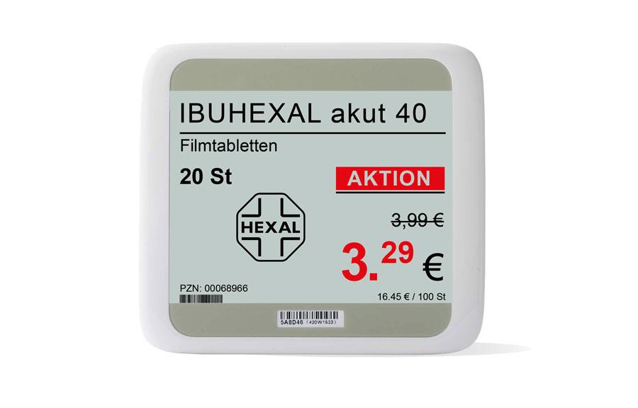 Elektronische Preisauszeichnung Apotheken_Filiale