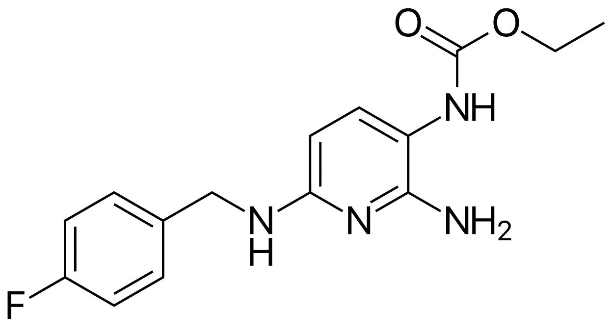 Flupirtin_Kataldolon_Strukturformel