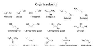 Organische Loesungsmittel Strukturformel